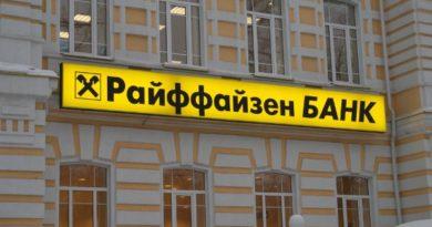 Райффайзенбанк комиссия за снятие наличных